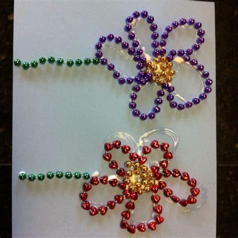 mardi gras bead crafts mardis gras crafts