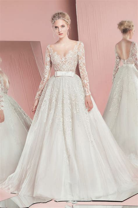 bridal dresses 2016 by zuhair murad youtube zuhair murad spring 2016 bridal collection belle the