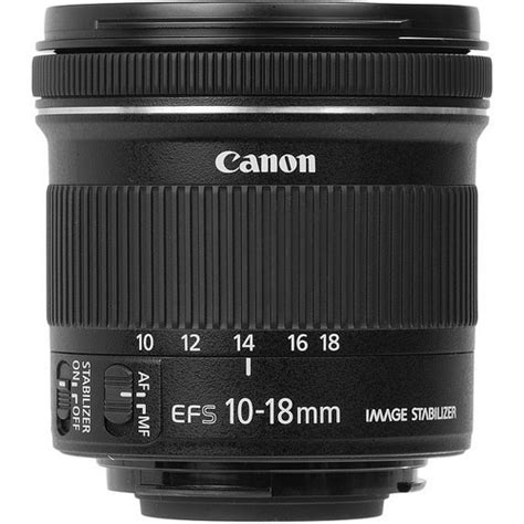 Canon Ef S 10 18 F45 56 Is Stm canon 10 18 ef s 10 18