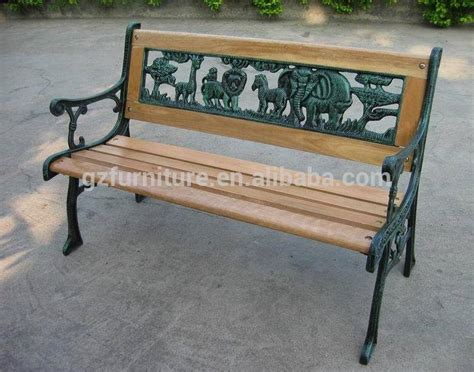 wood and iron garden bench cast iron and wood garden bench buy cast iron and wood