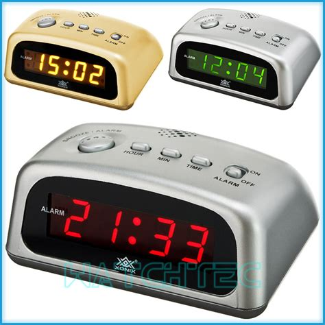 High Quality Led Alarm Clock by High Quality Alarm Clock Xonix Snooze Sharp Digital Led