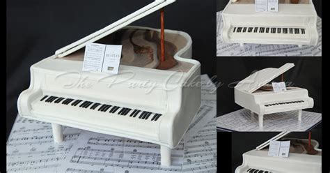 keyboard cake tutorial the party cake by andrea grand piano cake