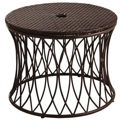 This decorative low table provides extra stability and