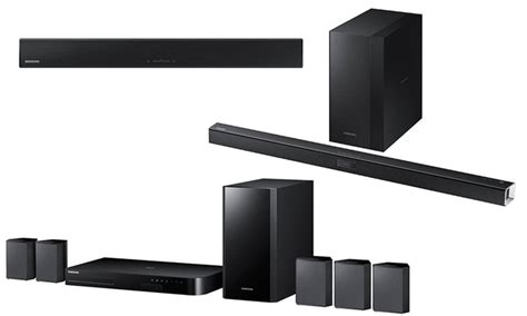 samsung sound bar or home theater system groupon