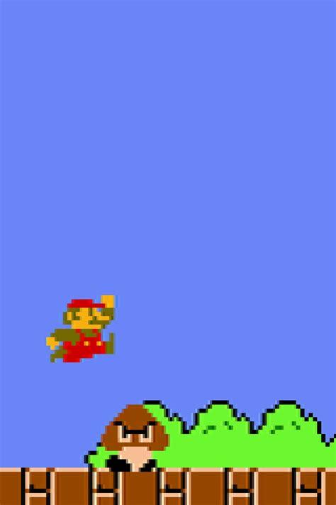 wallpaper iphone 6 mario ゲーム マリオ クリボー スーパーマリオブラザーズ iphone壁紙ギャラリー