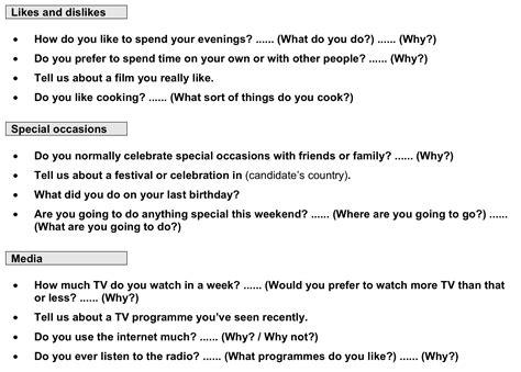 simulazione test inglese b1 cambridge b2 speaking paper