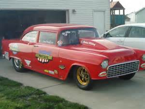 1955 chevy drag car and trailer go race today for sale in