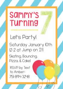 Birthday Invitations Templates Free Printable by Free Printable Birthday Invitation Templates