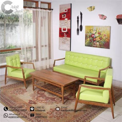 Kursi Tamu Second set kursi tamu minimalis danzo createak furniture