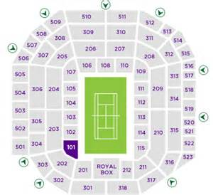 seating plan for centre court wimbledon seating maps open tennis