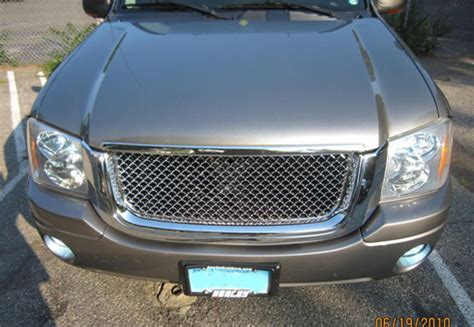 Terios Front Grille Cover Model Bentley Chrome gmc envoy chrome bentley mesh grille