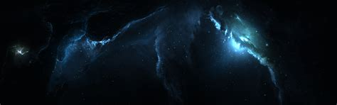 wallpaper mac dual screen atlantis nebula 3 dual monitor 5k retina ultra hd