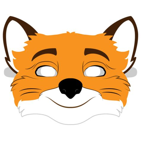 fantastic mr fox mask template free printable
