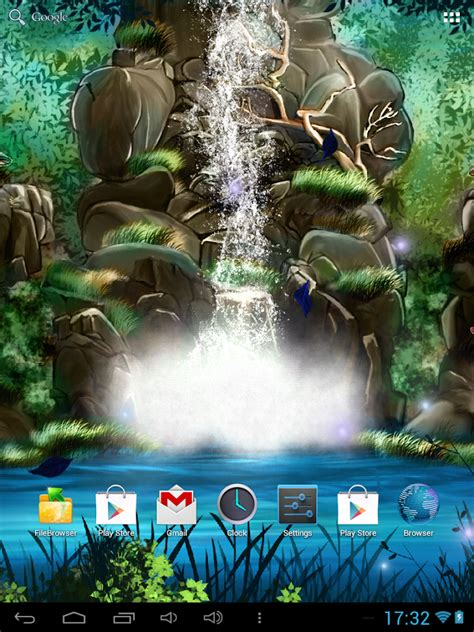 live wallpaper for pc full version 3d waterfall live wallpaper android apps on google play