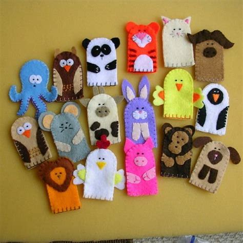 Handmade Puppets Patterns - 25 best ideas about finger puppets on puppets