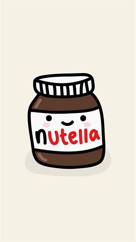 nutella jar illustration iphone 6 hd wallpaper iphone wallpapers nutella