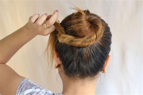 cara membuat sanggul simple dan elegan teruskan langkah langkah membuat sanggul rambut sendiri langkah