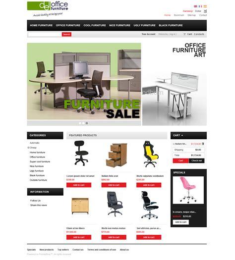 E Furniture by E Commerce Office Furniture Website Design Melbourne