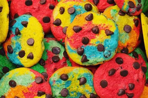 colorful cookies rainbow foods cookies cakes and more colorful treats