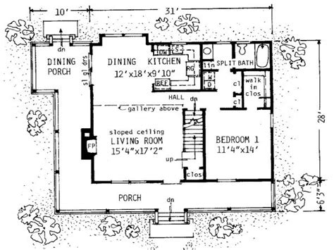 1300 square foot house plans simple small house floor