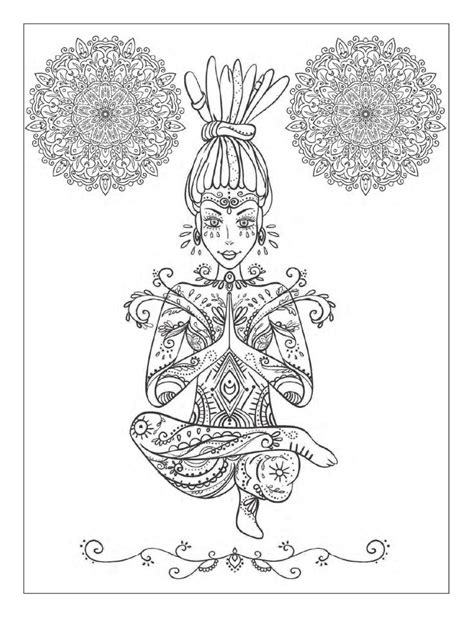 mandala meditation coloring book ideas 1000 images about pagan coloring on