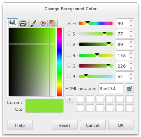 gimp color picker gimp color picker