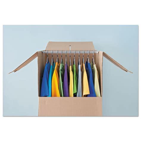 ufshanger general supply wardrobe moving storage box