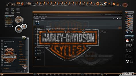 all themes all themes for windows 7 harley davidson theme for