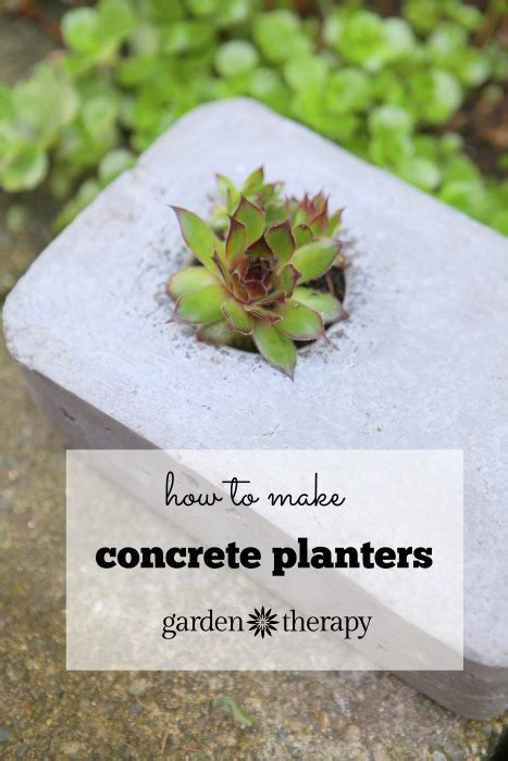 How To Make Concrete Planters by How To Make Concrete Planters