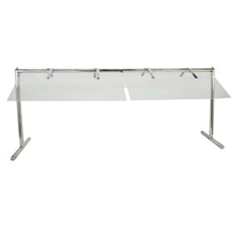 buffet sneeze guard buffet enhancements 1bsgf75ss 75 quot stainless folding sneeze guard buffet units zesco