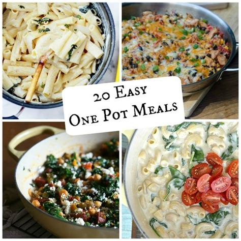 one pot meals for dinner the world s catalog of ideas