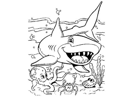 ocean coloring book free printable ocean coloring pages
