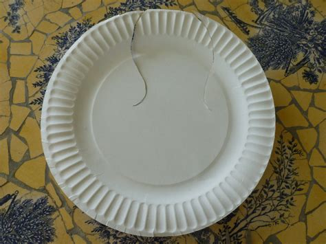 Paper Plate Seagull Craft - preschool summer bird craft paper plate seagull local