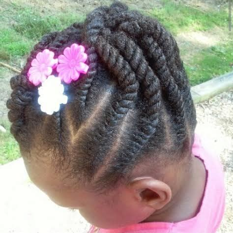 holiday natural hair styles for children
