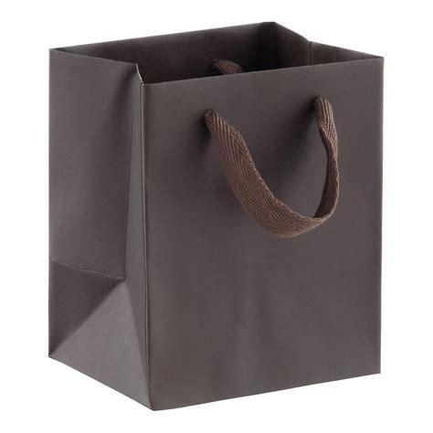 Goodie Bag Bantal Bulu Mini mini espresso manhattan recycled gift bag the container store