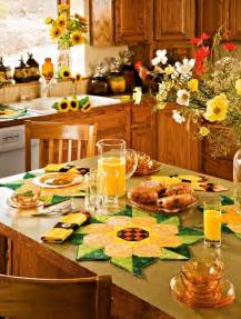 idea for kitchen decorations sunflower kitchen decor ideas for modern homes