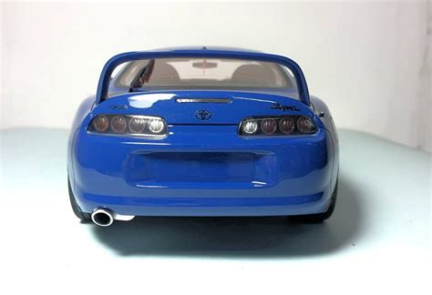 Collectible Ls by Look Ls Collectibles Toyota Supra Blue