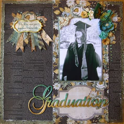 scrapbook layout graduation graduation swirlydoos scrapbook com scrapbook ideas