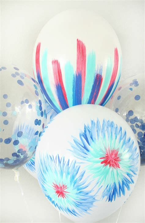 4th Of July Balloon Decorations by Diy 4th Of July Balloon Decor