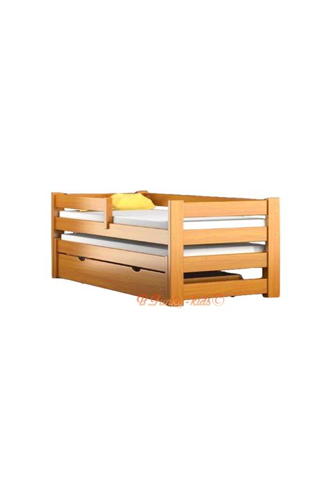 Solid Wood Trundle Bed With Drawers by Trundle Roll Out Solid Wood Daybed With Drawer And