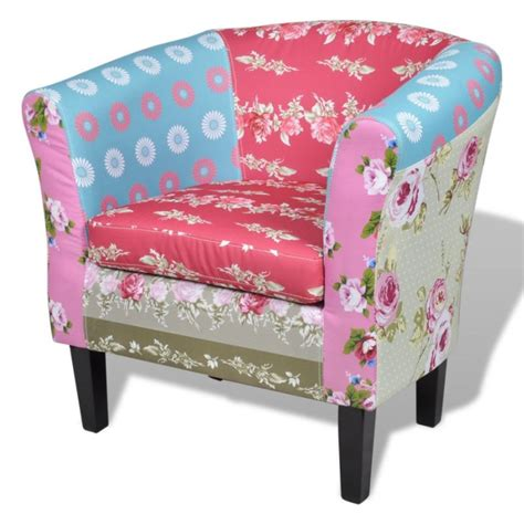 Patchwork Armchairs For Sale - tub fabric armchair in floral patchwork buy armchairs
