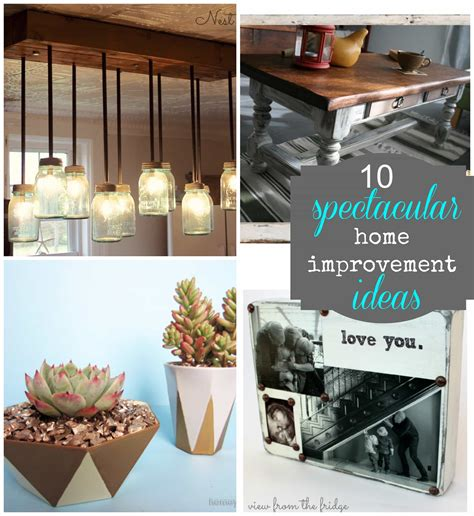home improvement ideas pictures 10 spectacular diy ideas pinkwhen