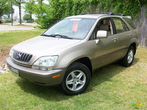 gold lexus rx 2001 burnished gold metallic lexus rx 300 awd 8481867