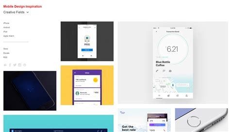 best design apps 10 best resources for mobile app design inspiration