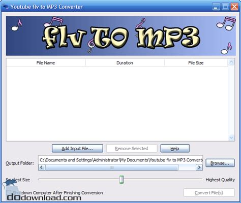 flv mp3 downloader save your privacy and security use dodownload com