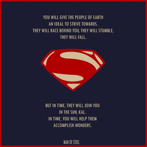 film quotes superman man of steel quote awesome comic book pages