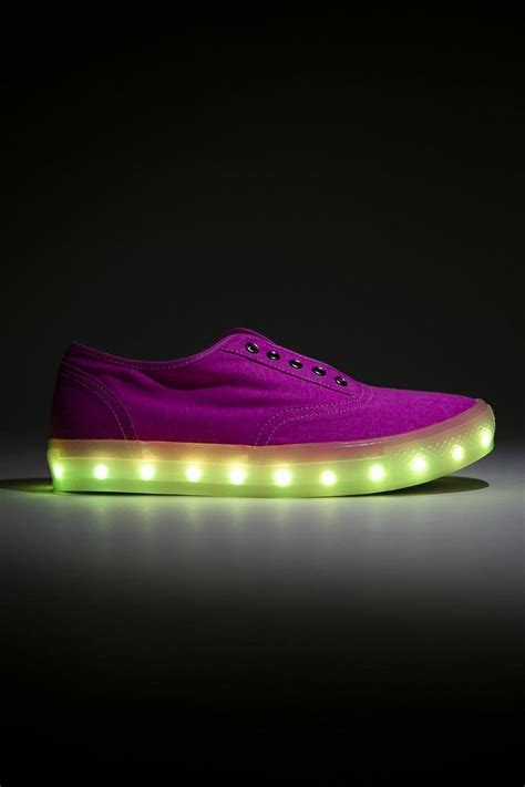 neon light up sneakers amazon com wild rose womens laceless 7 color led light up
