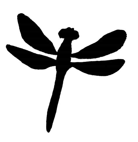 dragonfly clipart dragonfly clipart black and white clipart panda free