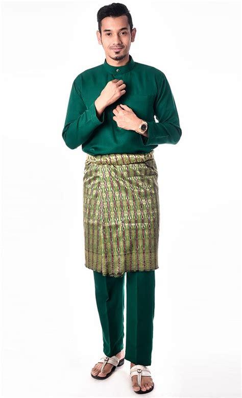 Baju Sedondon Emerald Green baju melayu in emerald green fashionvalet