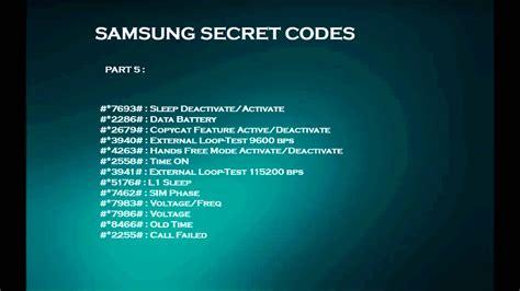 secret android codes samsung secret codes funnydog tv